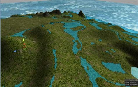 unity tutorial navmesh unity terrain navmesh terry morgan