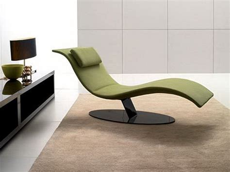furniture minimalist green bedroom modern lounge chair design