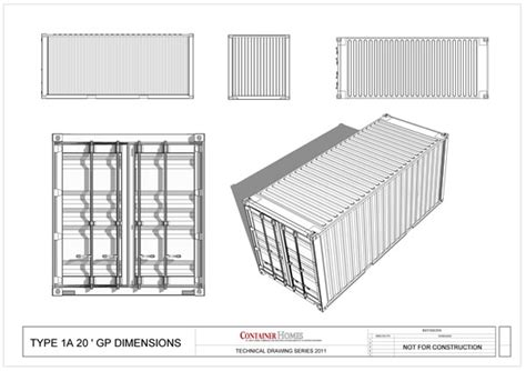shipping containers physical characteristics