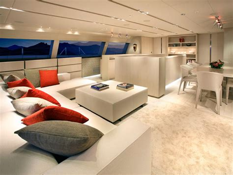 home yacht interiors design the luxurious red dragon yacht