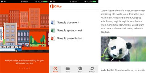 office mobile ios microsoft office mobile para ios lo hemos probado