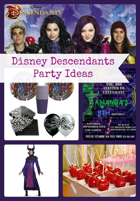 125 Best Disney Descendants Birthday Party Theme Ideas And | 125 best disney descendants birthday party theme ideas and