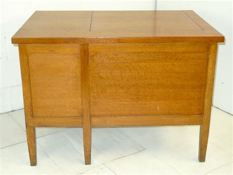 antique mission oak desk for sale mission arts crafts oak secretary single pedestal