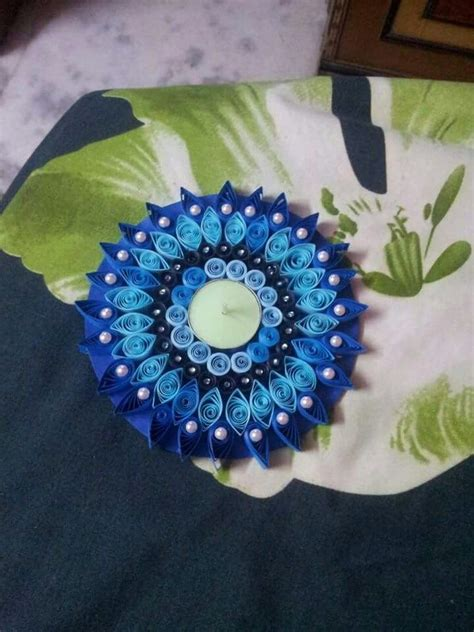 quilling diya tutorial quilled diwali diya candle quilling my creations