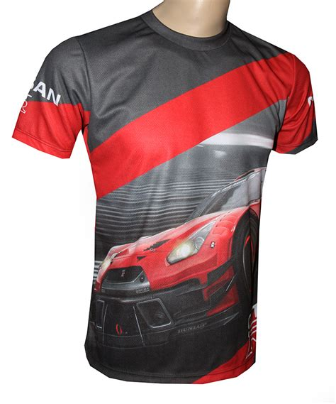 nissan gt   shirt  logo    printed picture  shirts   kind  auto