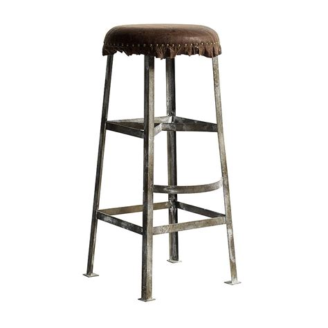 old metal bar stools nordal vintage style bar stool by bell blue