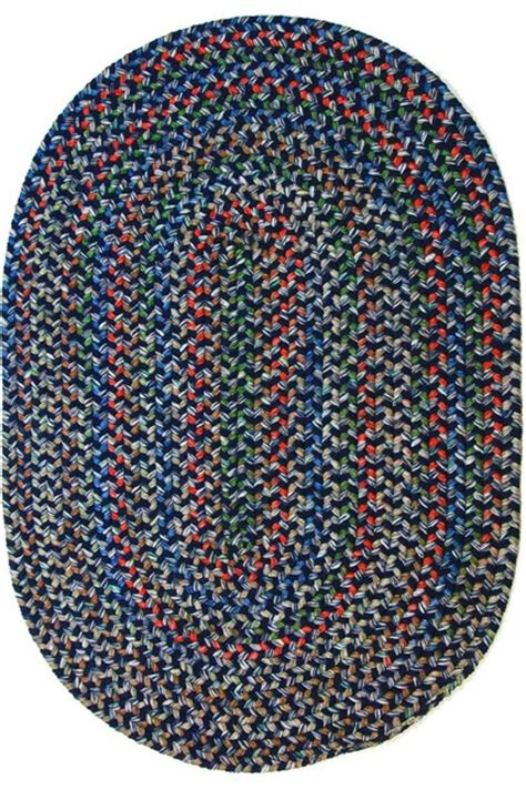 Large Oval Area Rugs Navy Rug Textured Braided Farmhouse Area Rugs By Area Rugs