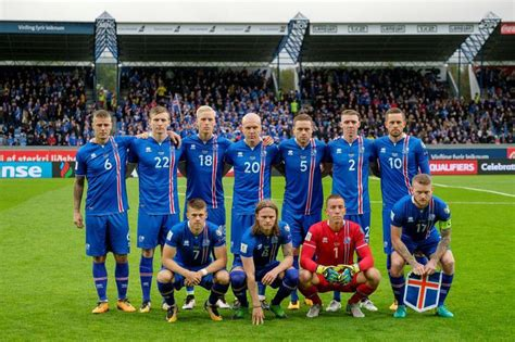 Iceland Football Team National Football Team Meets Kosovo Tonight In
