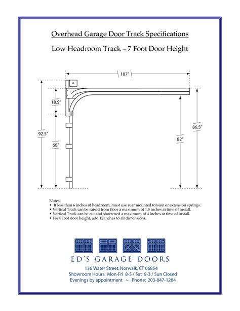 Overhead Door Dimensions Garage Door Heights Neiltortorella