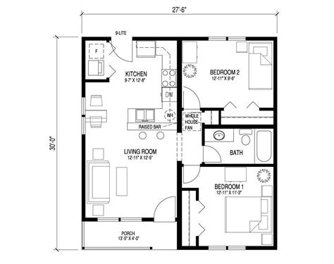 simple two bedroom house plans simple two bedroom house plans pdf