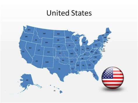 18 Powerpoint Us Map Vector Free Images Blank Usa Map Vector United States Free Editable Powerpoint Us Map Template Free