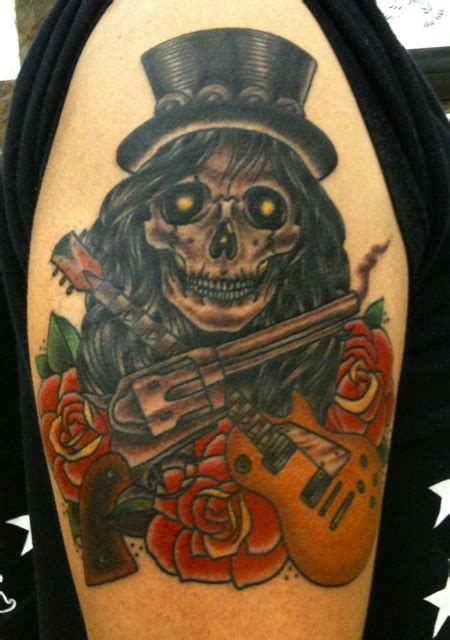 gun n roses tattoo guns n roses design at arm tattoomagz