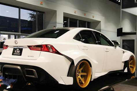 widebody lexus is350 widebody is350 at sema lexus rc350 rcf forum