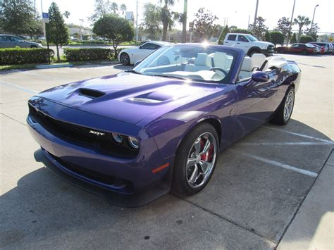 Convertible Hellcat Is One Plum Crazy Muscle Car