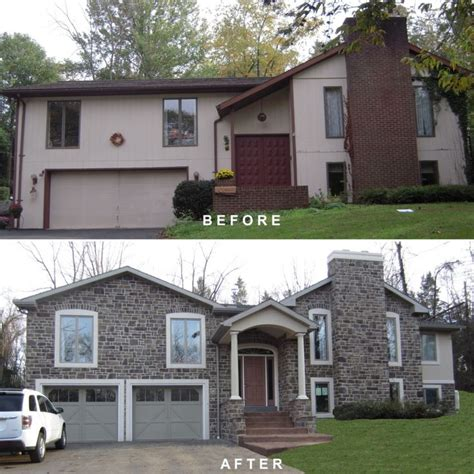 split level house remodel before and after www pixshark