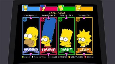 Doh On The Xbox The Simpsons Get Into Gaming by Simpsons Arcade Hits Xbox Live Doh Technabob