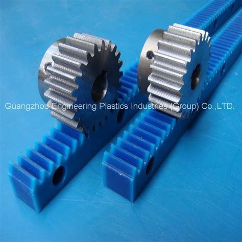 Plastic Rack And Pinion by Manufacture Best Quality White Rack Gears Pa6 Nylon6