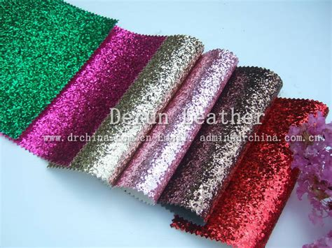 reflective fabric wall paper glitter pu leather decoration material glitter material pu glitter leather fabric for wallpapers
