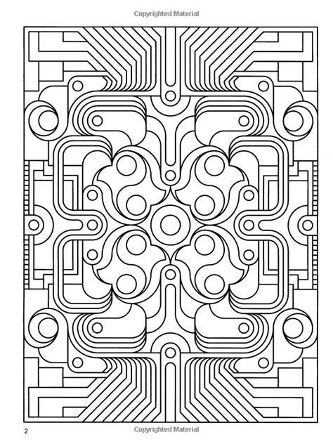 Deco Coloring Pages deco designs coloring pages