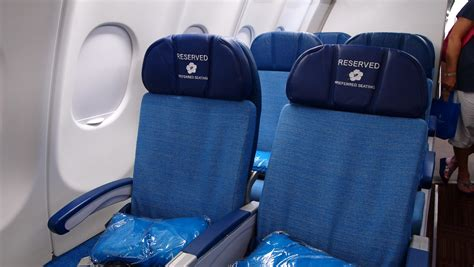 Comfort Seating by Exclusive Look At Hawaiian S New A330 Interiors Thedesignair