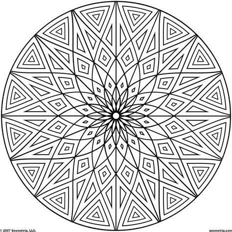 images of printable hard geometric coloring pages get this hard geometric coloring pages to print out 69031
