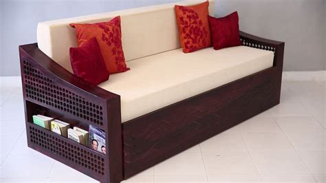 how to make a sofa cum bed sofa cum bed thar sofa cum bed mahogany finish online