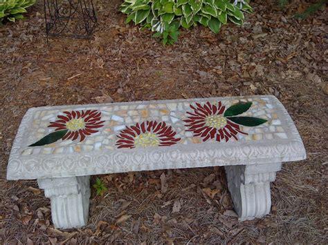 mosaic bench antiques uniques july 2010