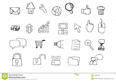 free doodle icons doodle icon royalty free stock images image