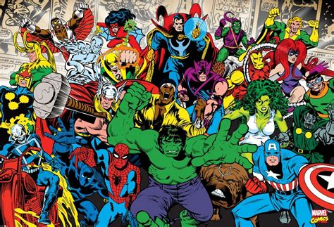 Animal Wall Murals marvel characters wall mural buy at europosters