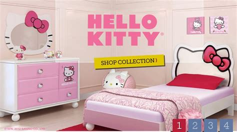 pics photos hello kitty bedroom furniture set for your daughter