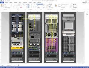 6 best images of visio rack diagram template server rack