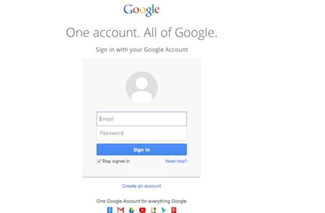 google images login gmail and other google services get new unified login page