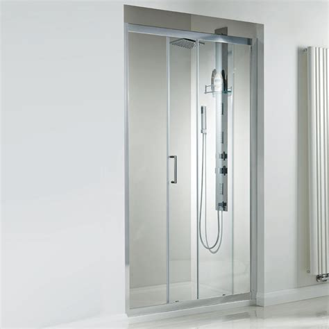 Single Glass Shower Door Spirit Single 1200mm 8mm Thick Glass Sliding Shower Door Enclosure Se910