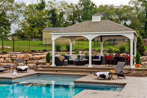 Different Patio Designs Pavilions Country Lane Gazebos