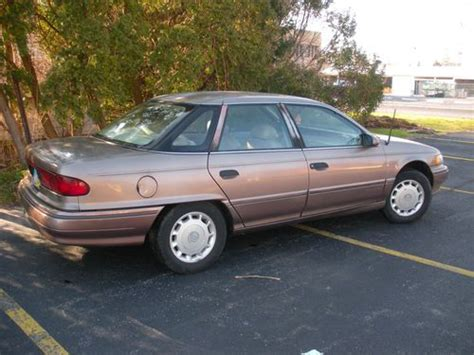 how cars work for dummies 1992 mercury sable electronic valve timing purchase used 1992 mercury sable gs sedan 4 door 3 8l great runner in swanton ohio united states