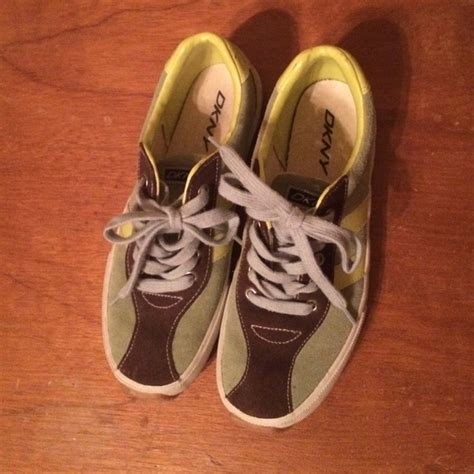 dkny athletic shoes dkny dkny suede tennis shoes from s closet on