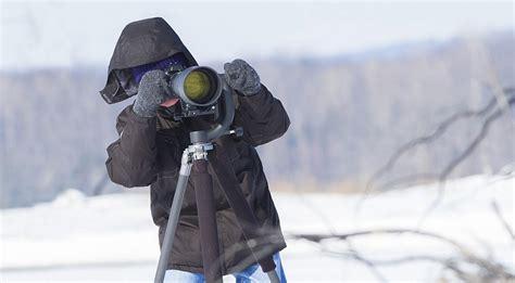 sulla neve fotografare sulla neve