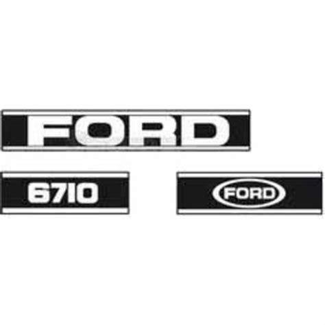 Ford Aufkleber Motorhaube schlepper teile 187 shop kabinen blechteile motorhauben