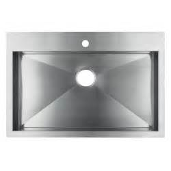 Single Bowl Stainless Kitchen Sink Kohler Vault 3821 1 Na Single Bowl Stainless Steel Kitchen Sink