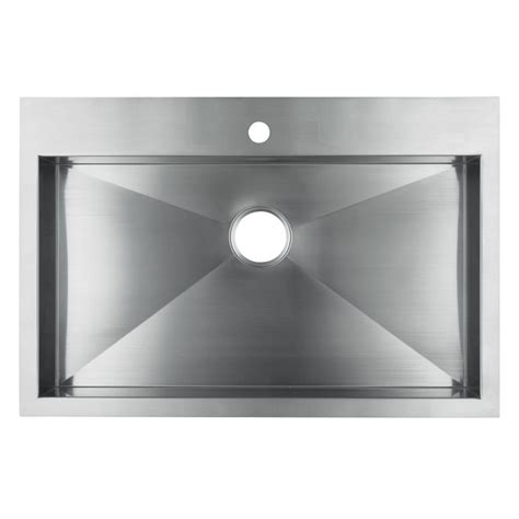 Single Bowl Stainless Steel Kitchen Sink Kohler Vault 3821 1 Na Single Bowl Stainless Steel Kitchen Sink