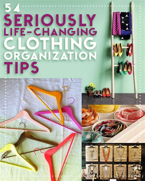 organizing the home 53 seriously changing clothing organization tips