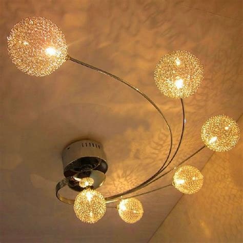 ceiling mounted art lighting artistic aluminum flush mount ceiling light reviews led