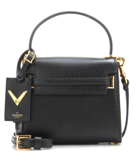 tas v entino mini bag valentino garavani my rockstud mini leather shoulder bag