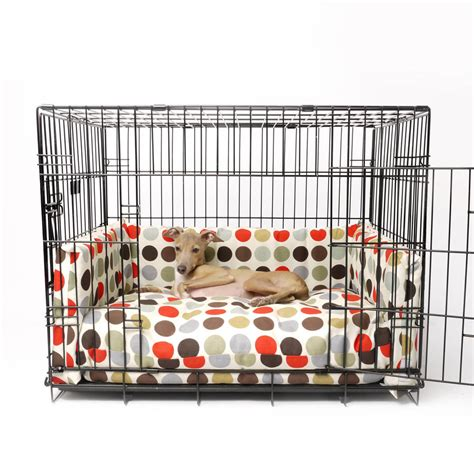 dog crate bed crate mattress and bed bumper set by charley chau