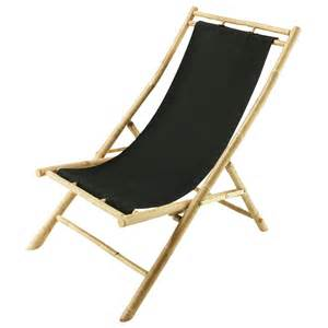 chaise longue chilienne pliable bambou robinson