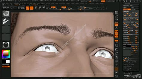 zbrush tutorial lynda دانلود lynda zbrush making hair with fibermesh آموزش