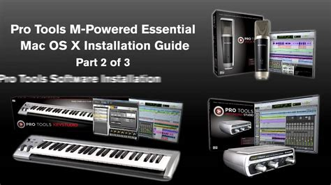 Pro Tools 9 Original Win Osx pro tools 174 m powered essential mac os x installation 2 of 3 pro tools software
