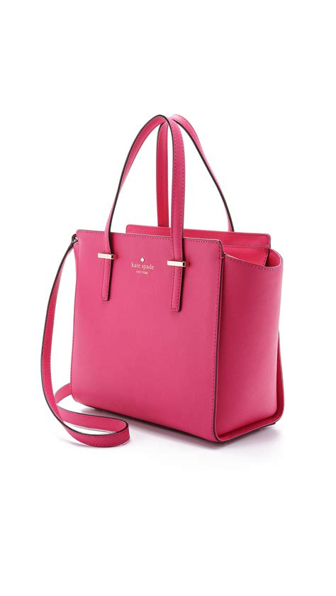 Kate Spade Sweetheart Pink lyst kate spade new york small hayden satchel