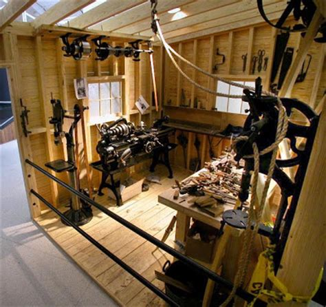 shedworking harley davidson shed