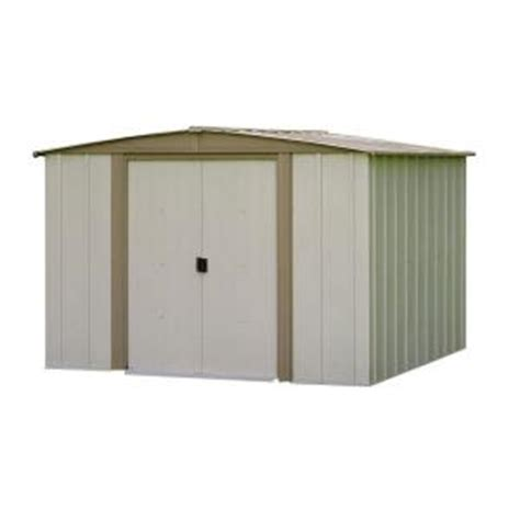 Home Depot Arrow Shed by Arrow Bedford 8 Ft X 8 Ft Steel Storage Shed Bd88 The Home Depot